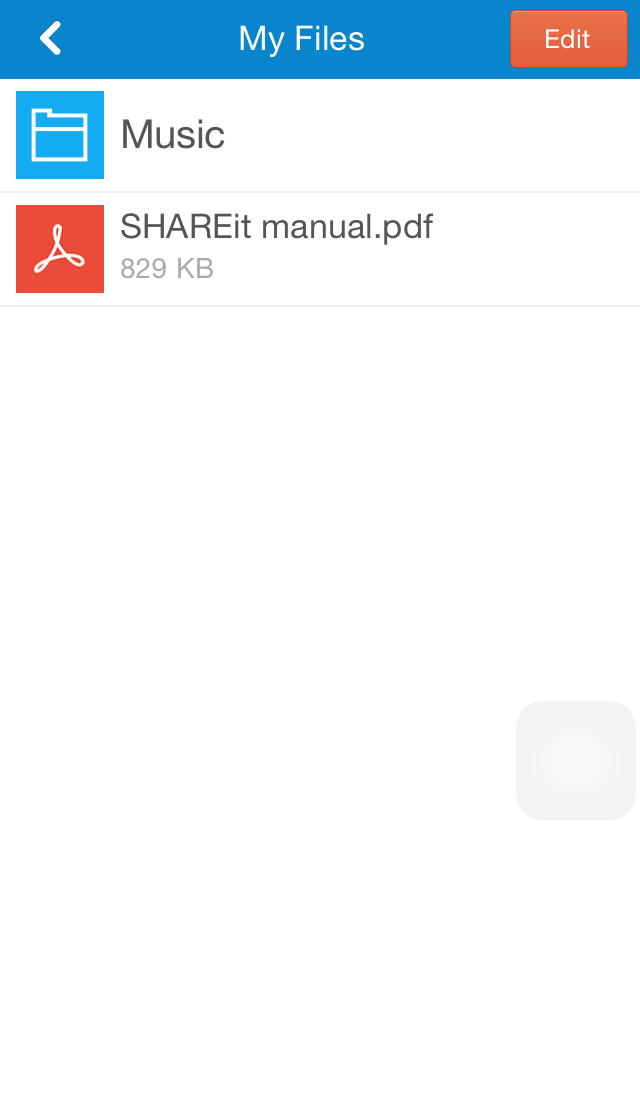 share files in iphone with android