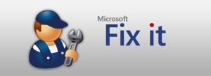 Fix Windows Problems using Fix it