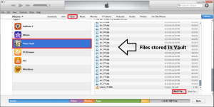 how to transfer video files to iPhone Gallery