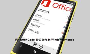error code 80072efd in windows phones