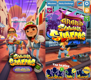 Subway Surfers Arabia with Unlimited Coins and Keys APK