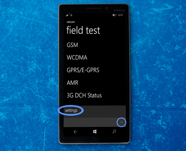 field test windows phone
