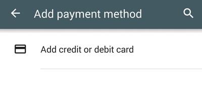google play add payment method