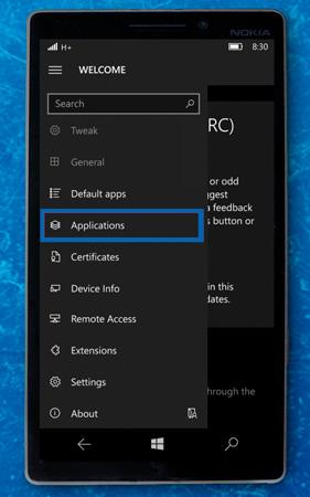 windows 10 mobile interop apllications