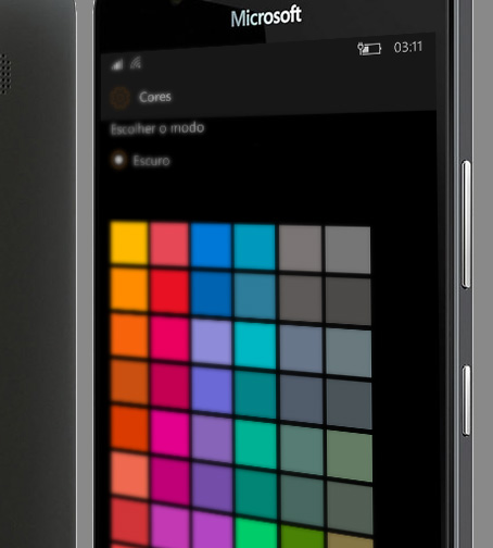 Color Accent setting a custom accent color in windows 10 mobile