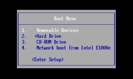 boot usb drive