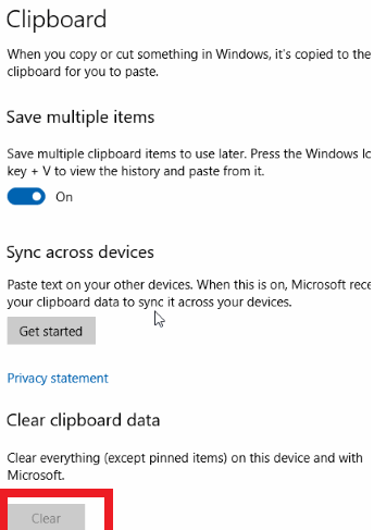 How to Clear Clipboard in Windows 10?