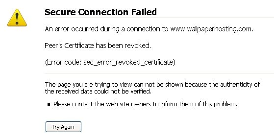 How to fix sec_error_revoked_certificate in Mozilla Firefox