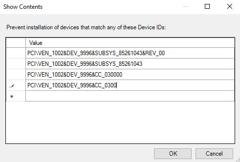 IDs drivers update