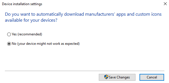 auto download drivers devices