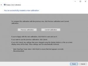 calibration display monitor windows 10