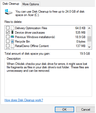 clean filerepository in driverstore