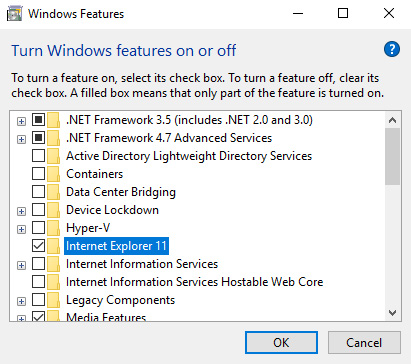 how to download internet explorer windows 10