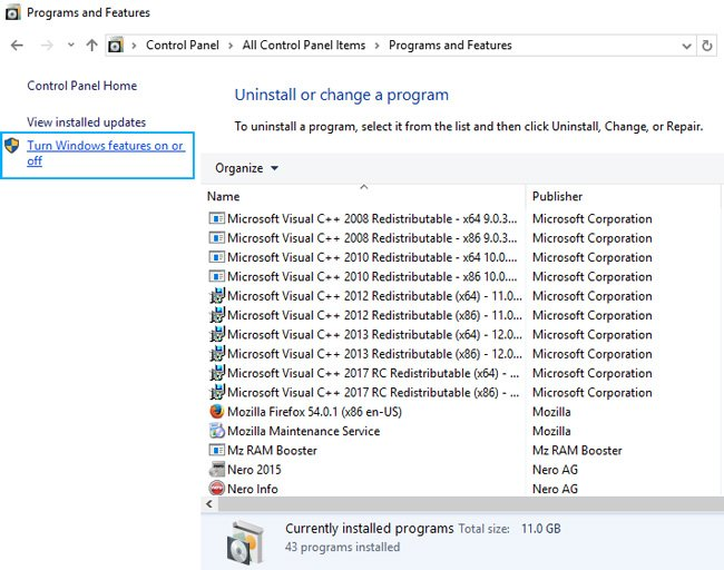 .net latest version for win7