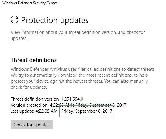 0x80070643 windows defender definitions update