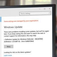 error 0x80070643 windows defender update