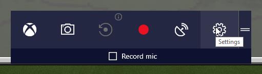use game mode settings