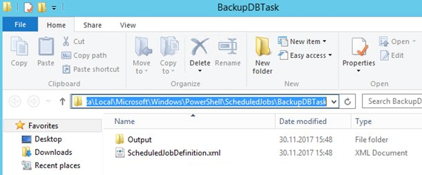create scheduled task powershell