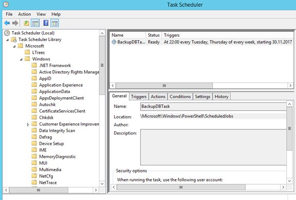 How to Create Scheduled Task Using PowerShell