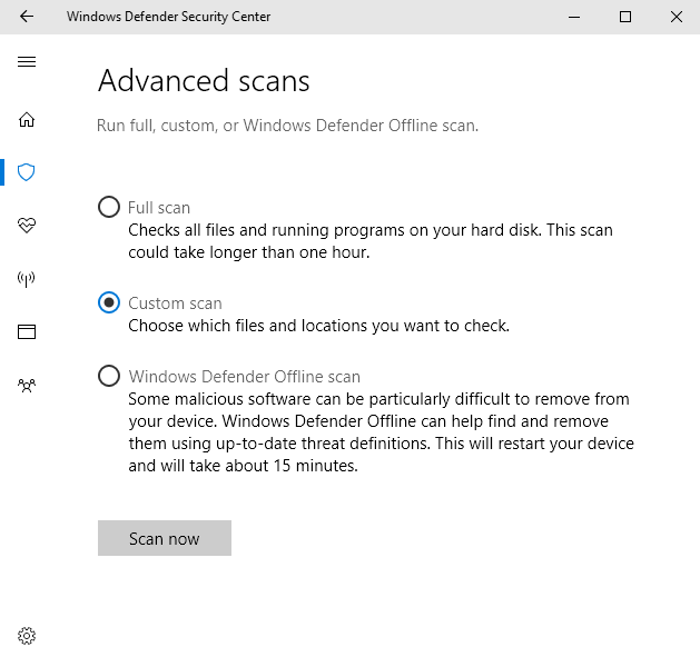 Installer Integrity Check Has Failed scan