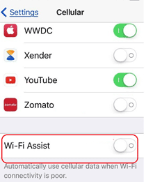 wifi problem iphone iOS11
