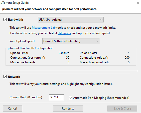 download slow speed utorrent