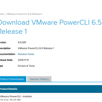 PowerCLI vmware