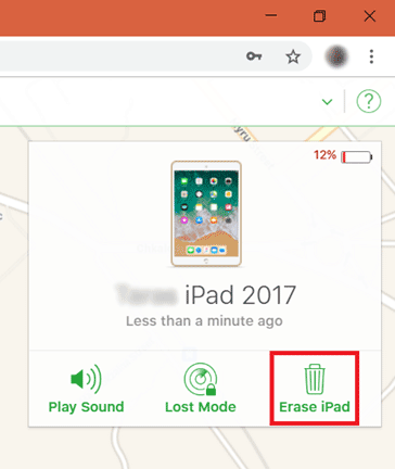 fix iphone is disabled