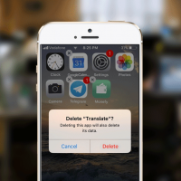 how to delete unused apps on iphone