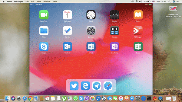 ipad screen recorder