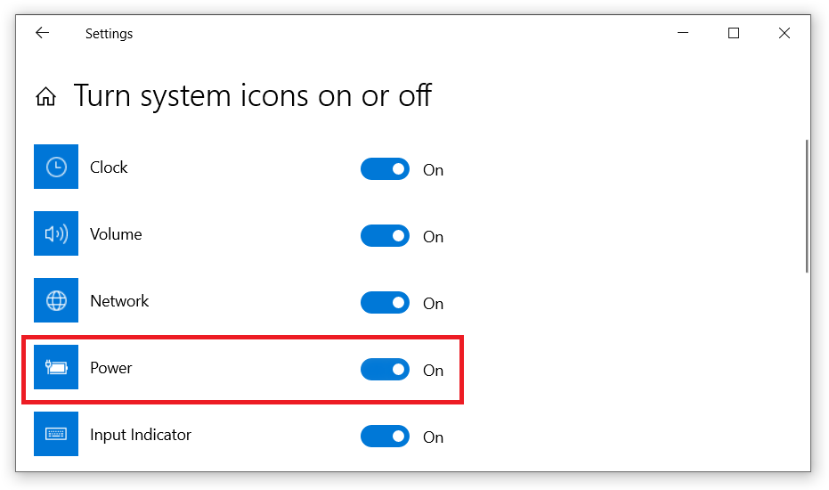 network settings disappeared windows 10