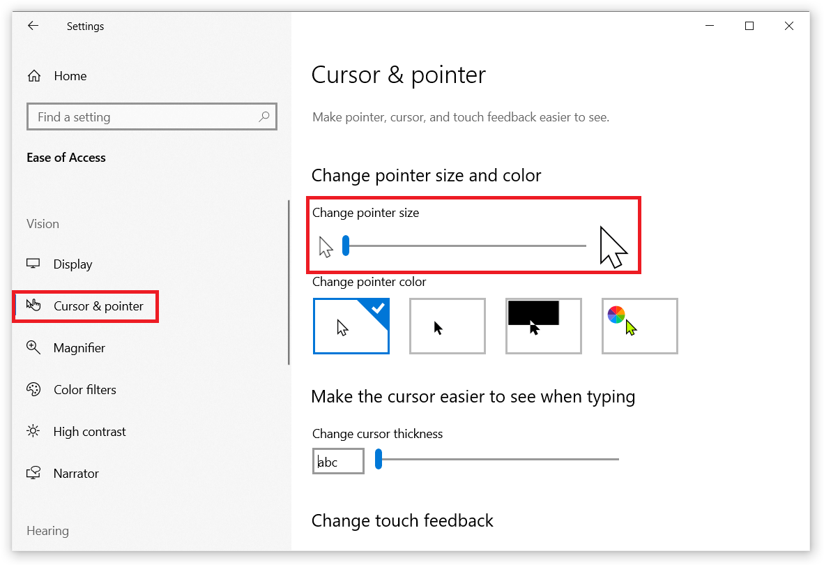 How to Change Mouse Pointer Size in Windows 10