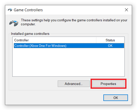 Calibrate Xbox One Controller