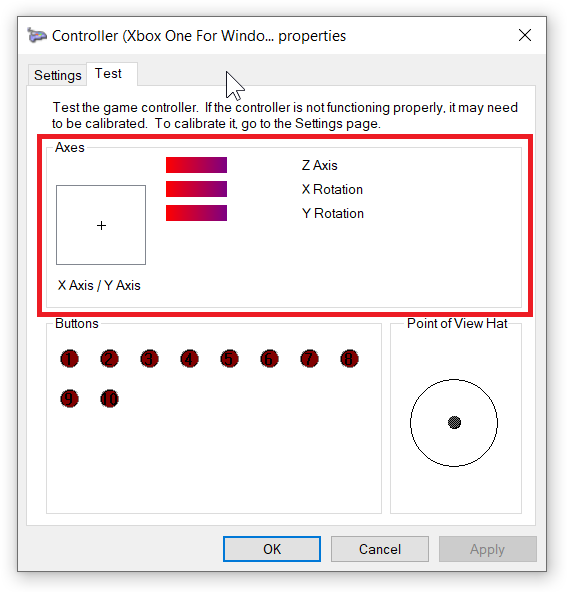 Calibrate Xbox One Controller on Windows 10