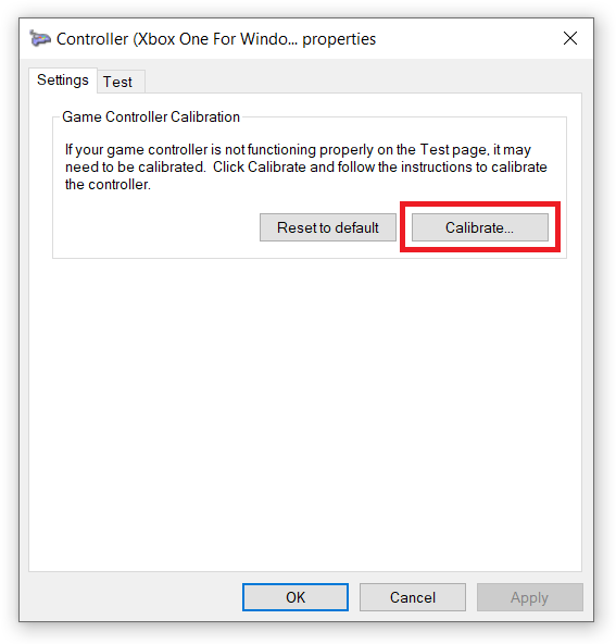 How to Calibrate Xbox One Controller on Windows