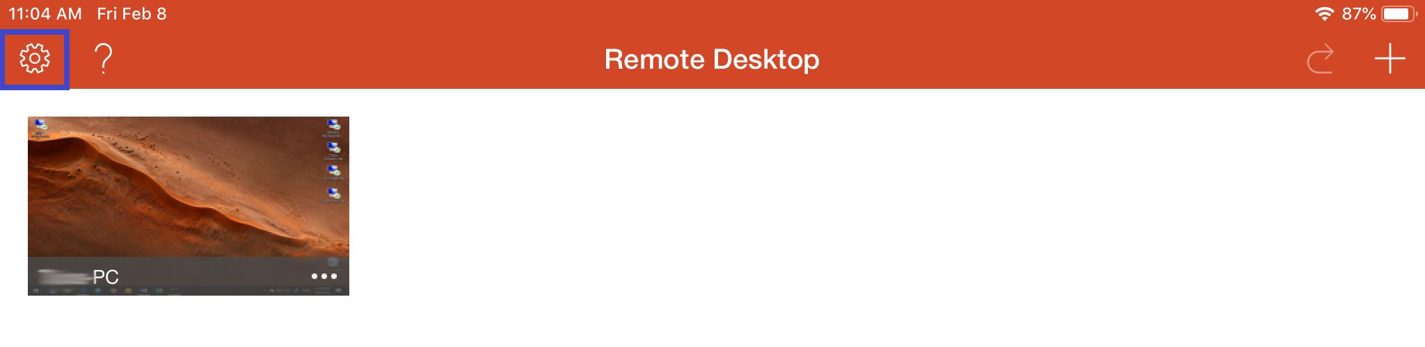 remote desktop connection mac to windows