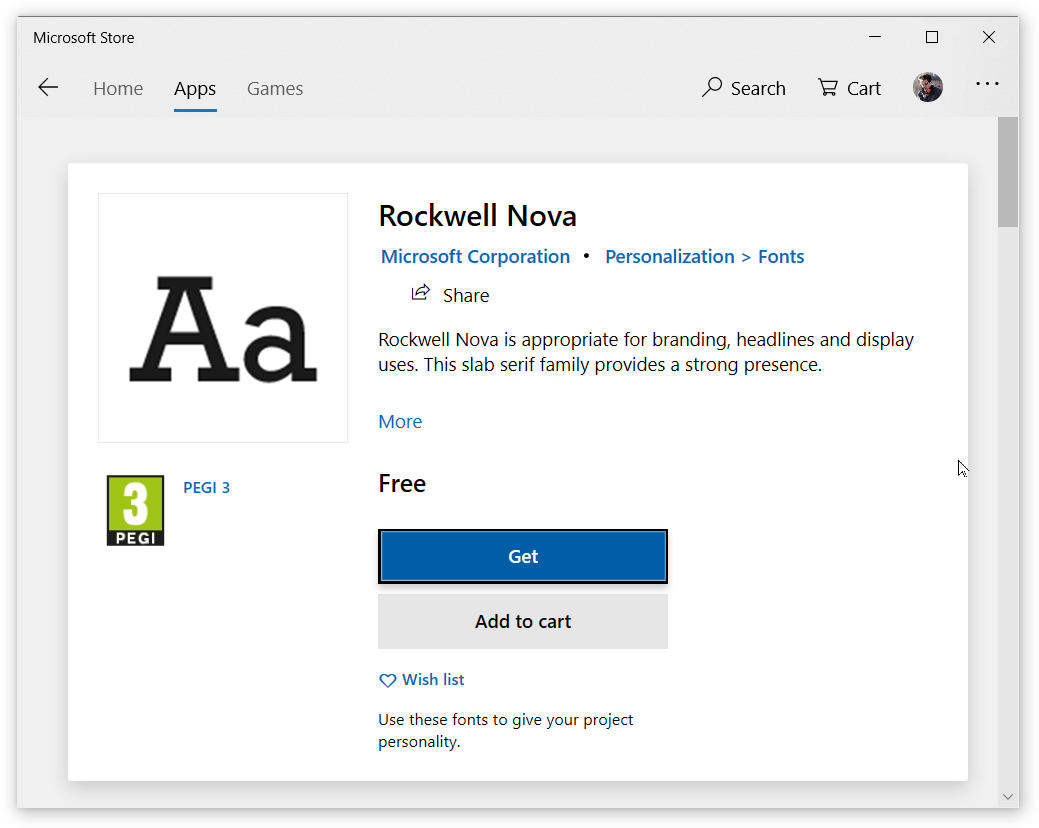 how to install custom fonts on windows 10