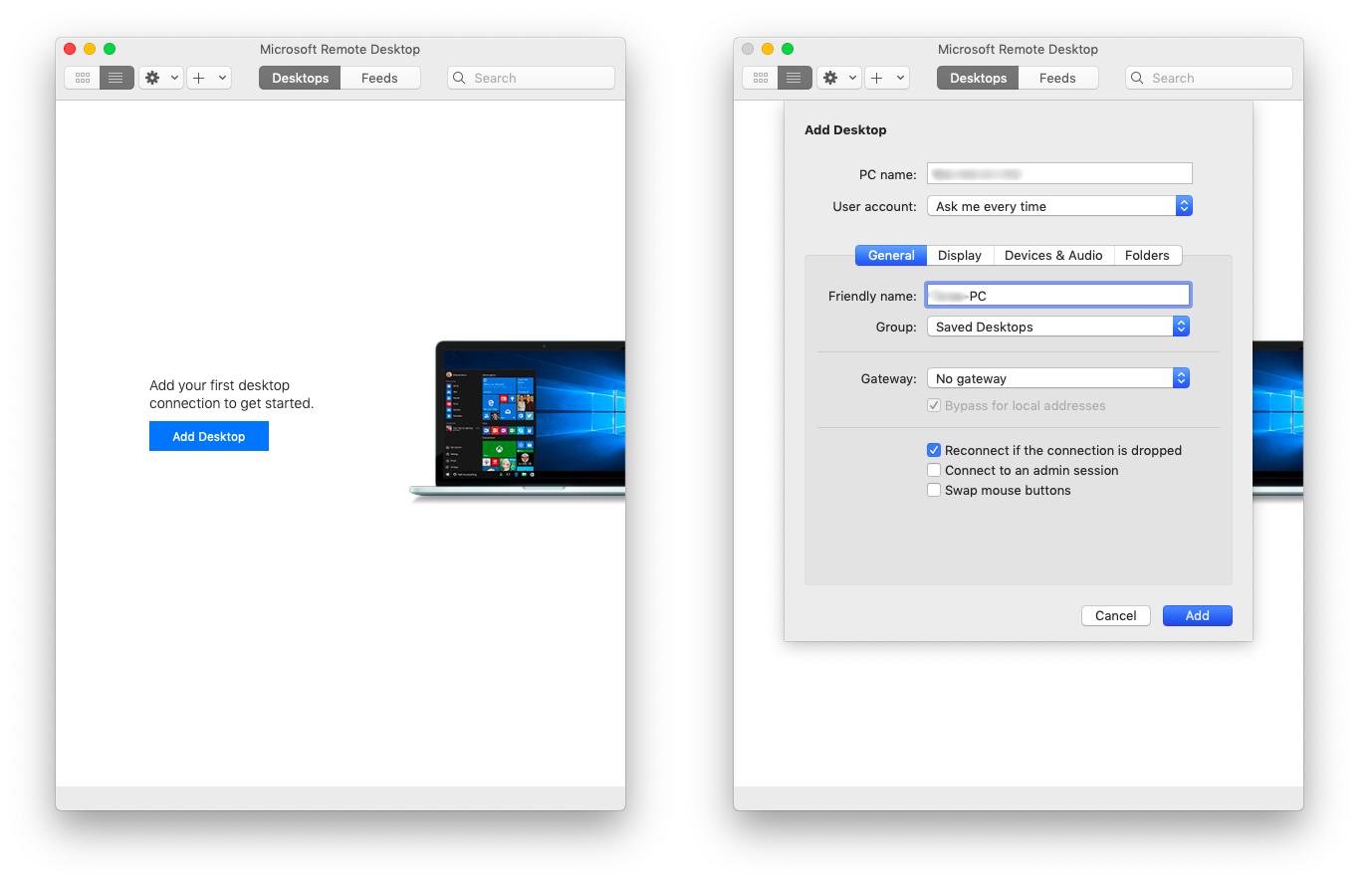microsoft remote desktop mac