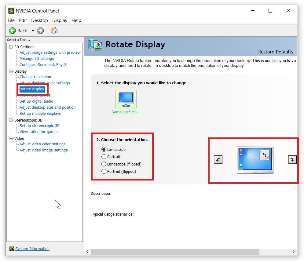 How to Rotate Screen on Windows 10?