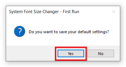 change text size windows 10
