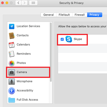 How to Disable Camera on Mac