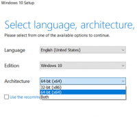 Upgrade Windows 10 32-bit to Windows 10 64-bit
