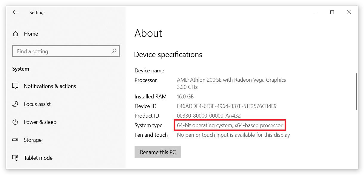 upgrade windows 10 32 bit to 64 bit