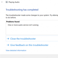 Fix Windows Audio Service Not Running Error
