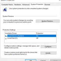 How to Create a Windows 10 Restore Point