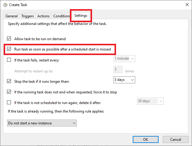 windows 10 set restore point