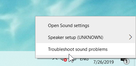 windows audio service not running
