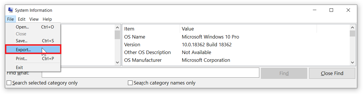 check my computer specs