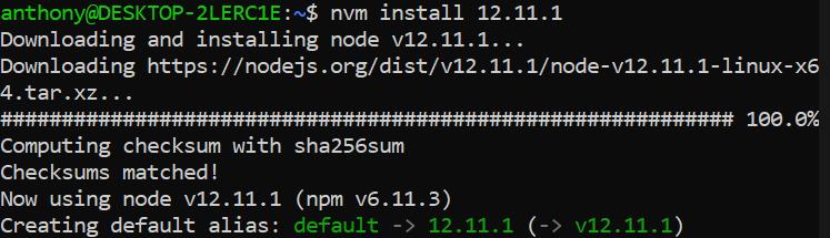 install npm ubuntu