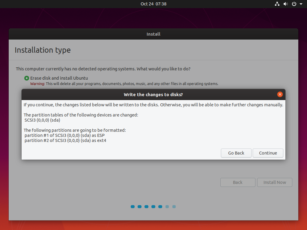 how to install ubuntu via usb drive